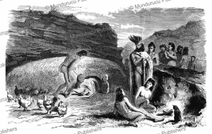 the house of a chief of easter island, l'illustration, 1872