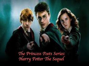 the princess poets series: harry potter the sequel