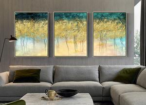 abstract wall decor print set of 3