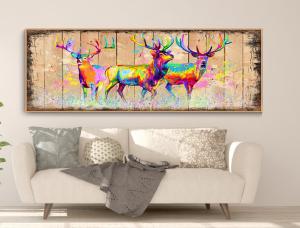 deers colorful