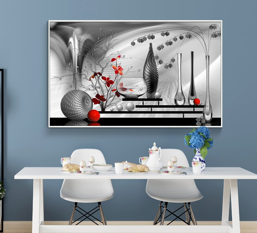 First Additional product image for - abstract wall decor print