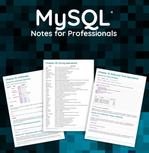 mysql: notes for professionals