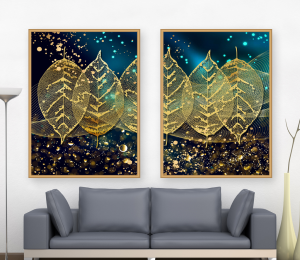abstract wall decor print set of 2 | Photos and Images | Abstract