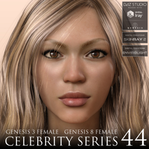 celebrity series 44 for genesis 3 and genesis 8 female