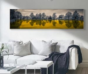 landscape print wide