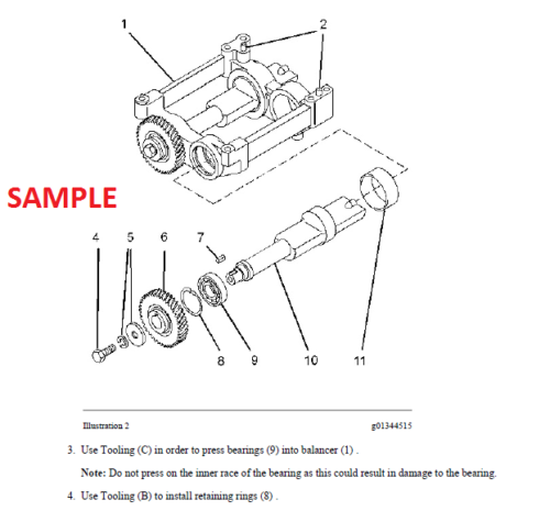 Caterpillar 257B Multi Terrain Loader Service Manual