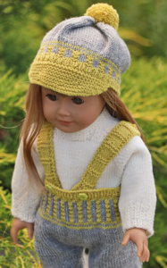 dollknittingpatterns 0201d jonas & jona - pantalon, pull, casquette et chaussettes-(francais)