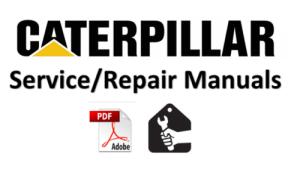 caterpillar 303 mini hyd excavator service manual