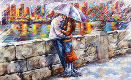 First Additional product image for - romantic wall decor print