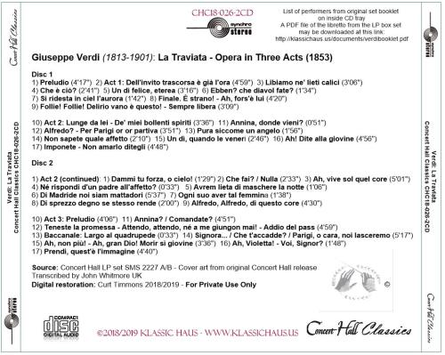 First Additional product image for - Verdi: La Traviata