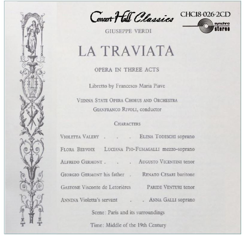 Second Additional product image for - Verdi: La Traviata