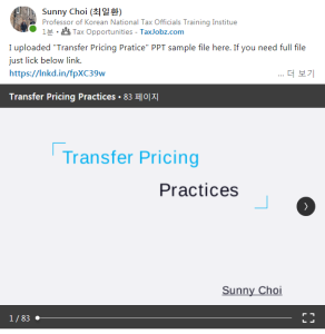 transfer pricing practices