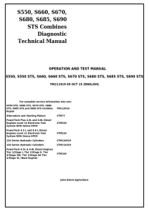 john deere s550, s660, s670, s680, s685, s690 sts combines diagnostic, operation and test service manual tm111919 pdf