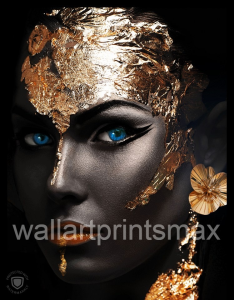 golden girl black print