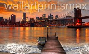 new york bridge photo manipulation