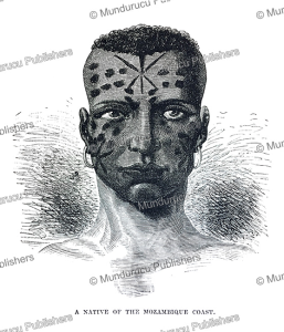 Native of Mozambique, Robert Brown, 1880 | Photos and Images | Travel