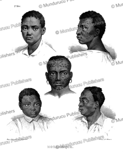 Natives of Mozambique, Rugendas, 1835 | Photos and Images | Travel