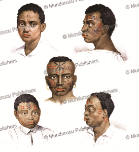 Tattooed Makuas from Mozambique, Johann Rugendas, 1835   Photos and Images   Travel
