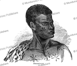 Native of Mozambique, Ebenezer Landells, 1848   Photos and Images   Travel