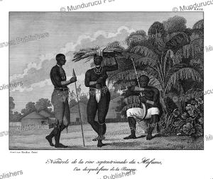 Natives of the Mafumo (Maputo river), Mozambique, Tardieu L'ai^ne´, 1800 | Photos and Images | Travel