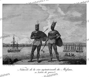 Mafumo (Maputo) warriors, Mozambique, Tardieu L'ai^ne´, 1800 | Photos and Images | Travel