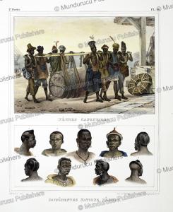 Ne`gres cangueiros; Diffe´rentes nations ne`gres, Jean Baptiste Debret, 1836 | Photos and Images | Travel