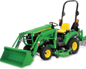 download john deere 1023e, 1025r compact utility tractor operator's manual omlvu25848