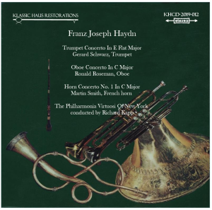 haydn: concerti for trumpet/oboe/french horn