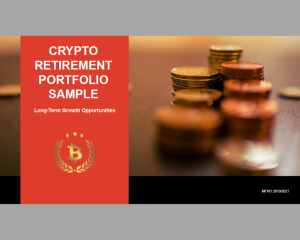 crypto retirement portfolio