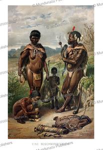 bushmen family, gustav mu¨tzel, 1894