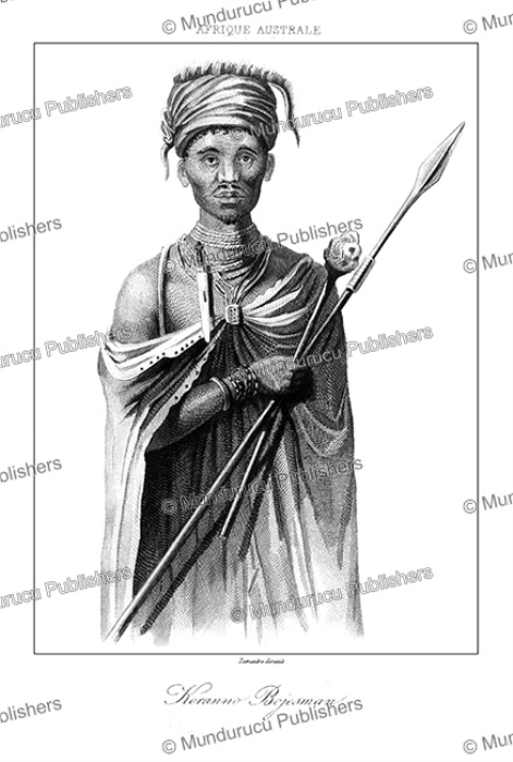First Additional product image for - San or Bushmen chief, Lemaitre, 1848