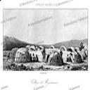 San or Bushmen village, Lemaitre, 1848 | Photos and Images | Travel
