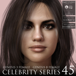 Celebrity Series 45 for Genesis 3 and Genesis 8 Female | Software | Design