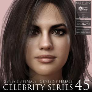 celebrity series 45 for genesis 3 and genesis 8 female