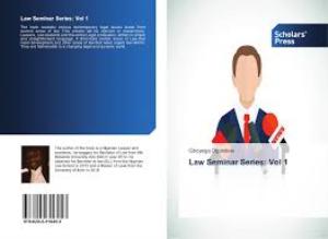 law seminar series vol 1