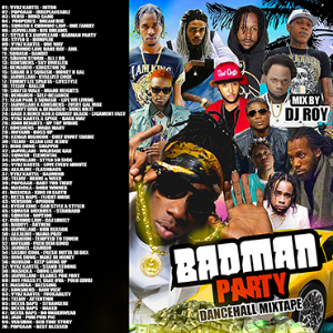 dj roy badman party dancehall mix 2019