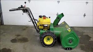 download john deere 826, 1032 snowblower operator's manual om-m83163