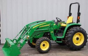 download john deere 4120, 4320, 4520, 4720 compact utility tractor operator's manual omlvu19619