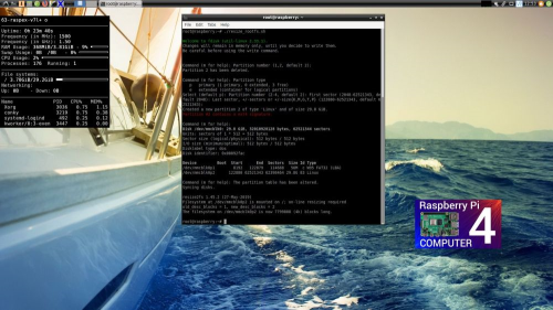 Fourth Additional product image for - RaspEX with OpenCPN 5.0.0 pre-installed for Raspberry Pi 4/3