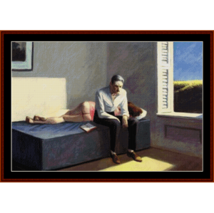 excursion into philosophy - hopper cross stitch pattern by cross stitch collectibles