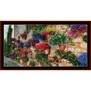 Italian Garden - Nature cross stitch pattern by Cross Stitch Collectibles | Crafting | Cross-Stitch | Other