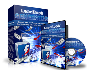 lead book generator for facebook - master resell rights