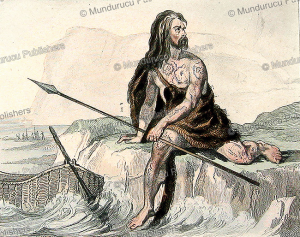 tattooed celtic-gaul from comata (france), 50 ac, 1859