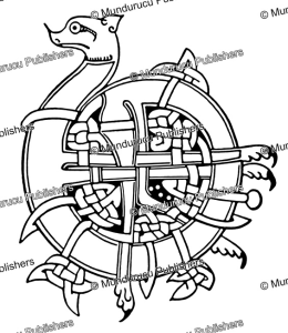 celtic dragon from the 6th century, after ernest ingersoll, 1928