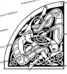 celtic human design from the book of kells, george bain, 1951