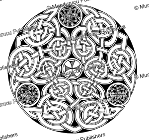 celtic knot from the book of durrow