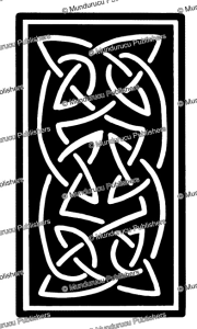 celtic ornament, after h. dolmetsch, 1887