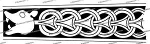 celtic ring-chain pattern