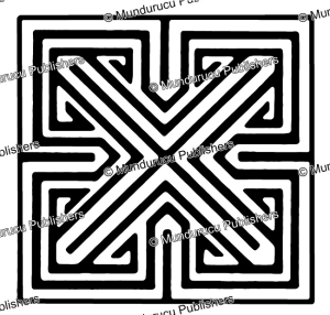 old irish swastika-key pattern, after mark redknap, 1991