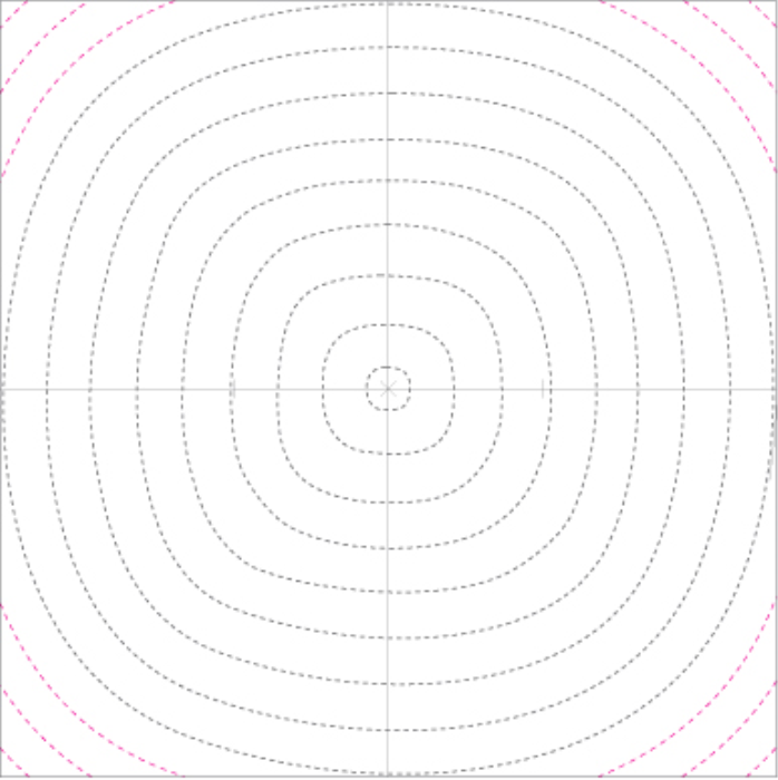 Second Additional product image for - FWSG Quilting Template